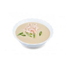 Крем суп с креветкой